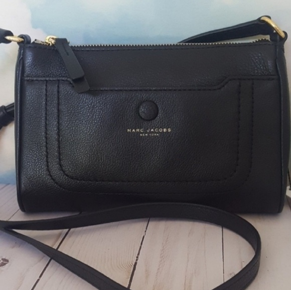 dc773e8f214c Marc Jacobs Empire City Black Leather Crossbody. Listing Price   104